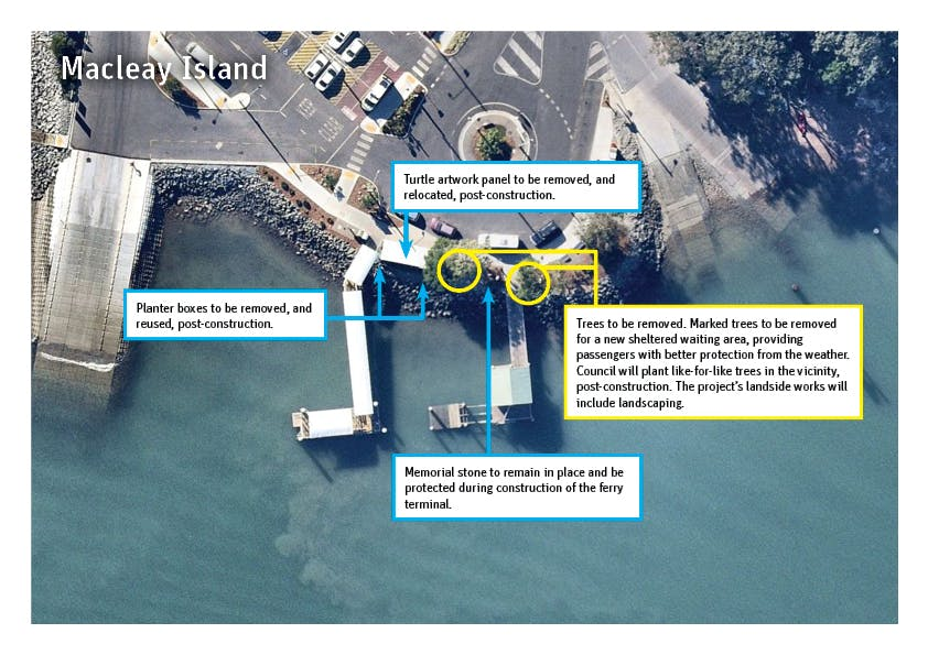 Macleay Island - Removal/relocation plan