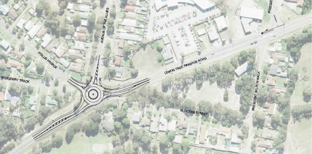 Ltp rd roundabout   updated plan with success st closure