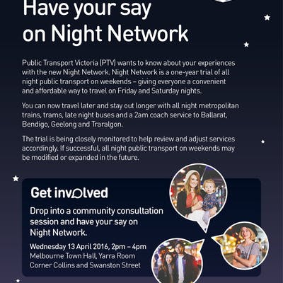Have your say on Night Network