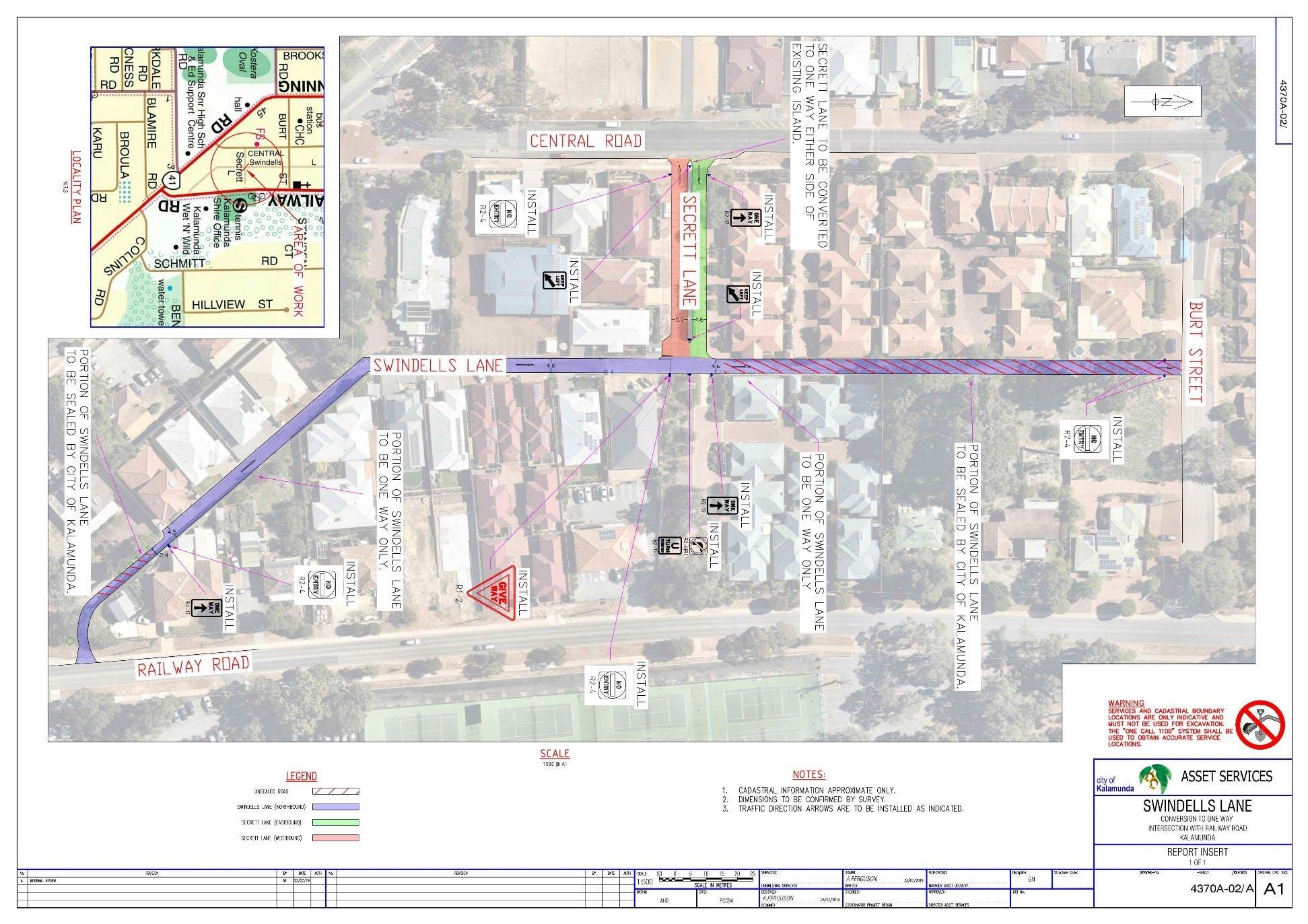 Full Swindells Lane - Kalamunda