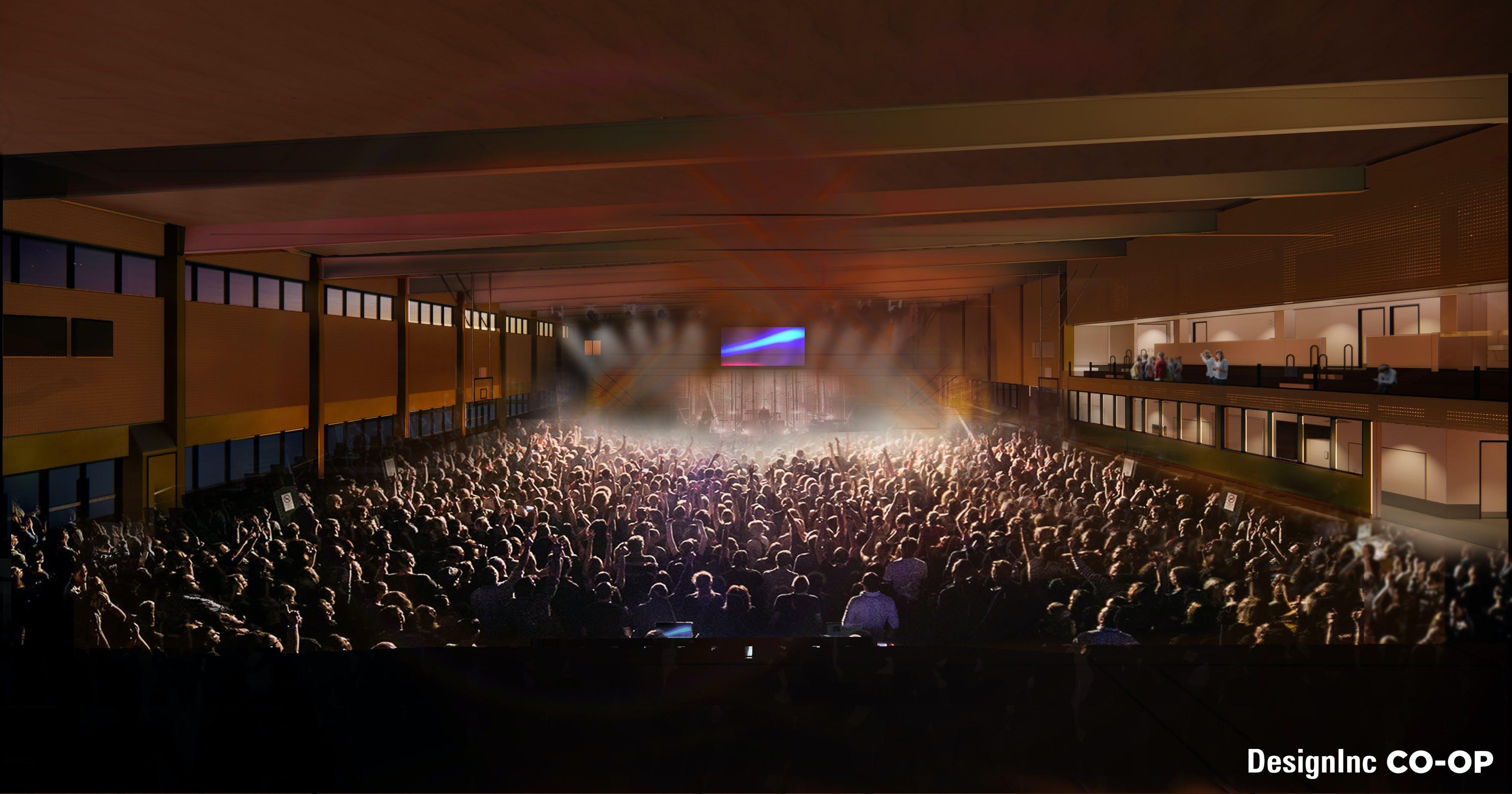 Concerts - Multi-purpose Courts