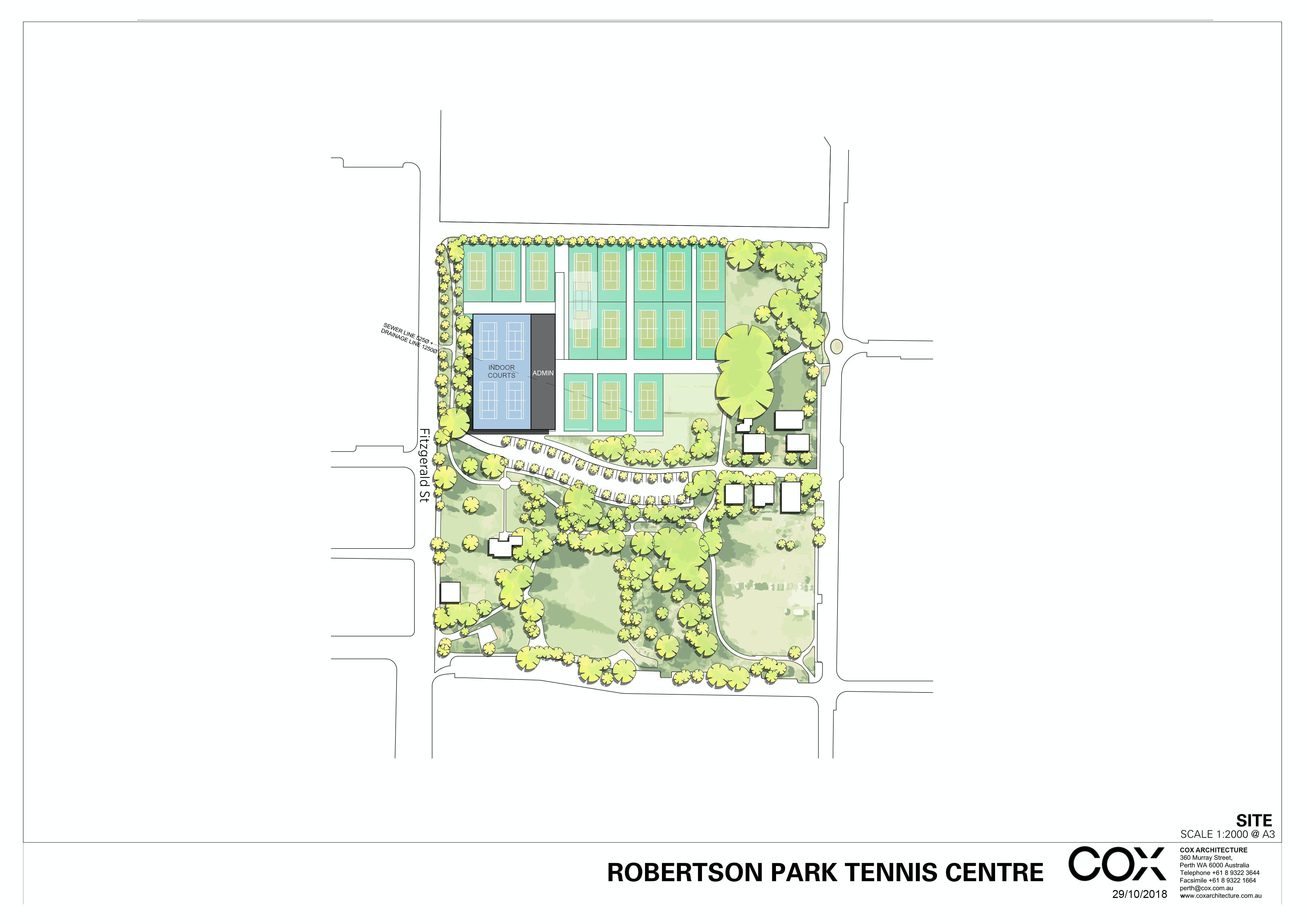 Robertson Park Tennis Centre