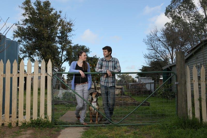 Sophie & Tim Kurylowicz of North Wagga with Lola