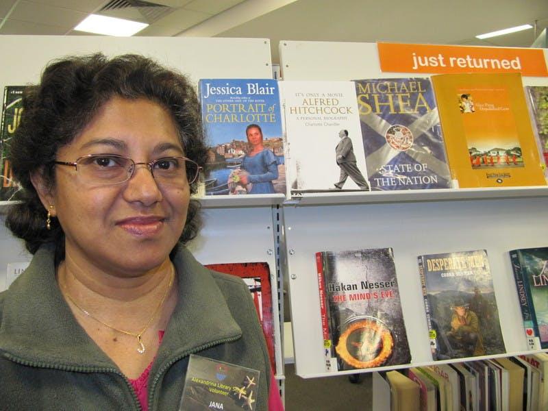 Jana, Library Volunteer Goolwa