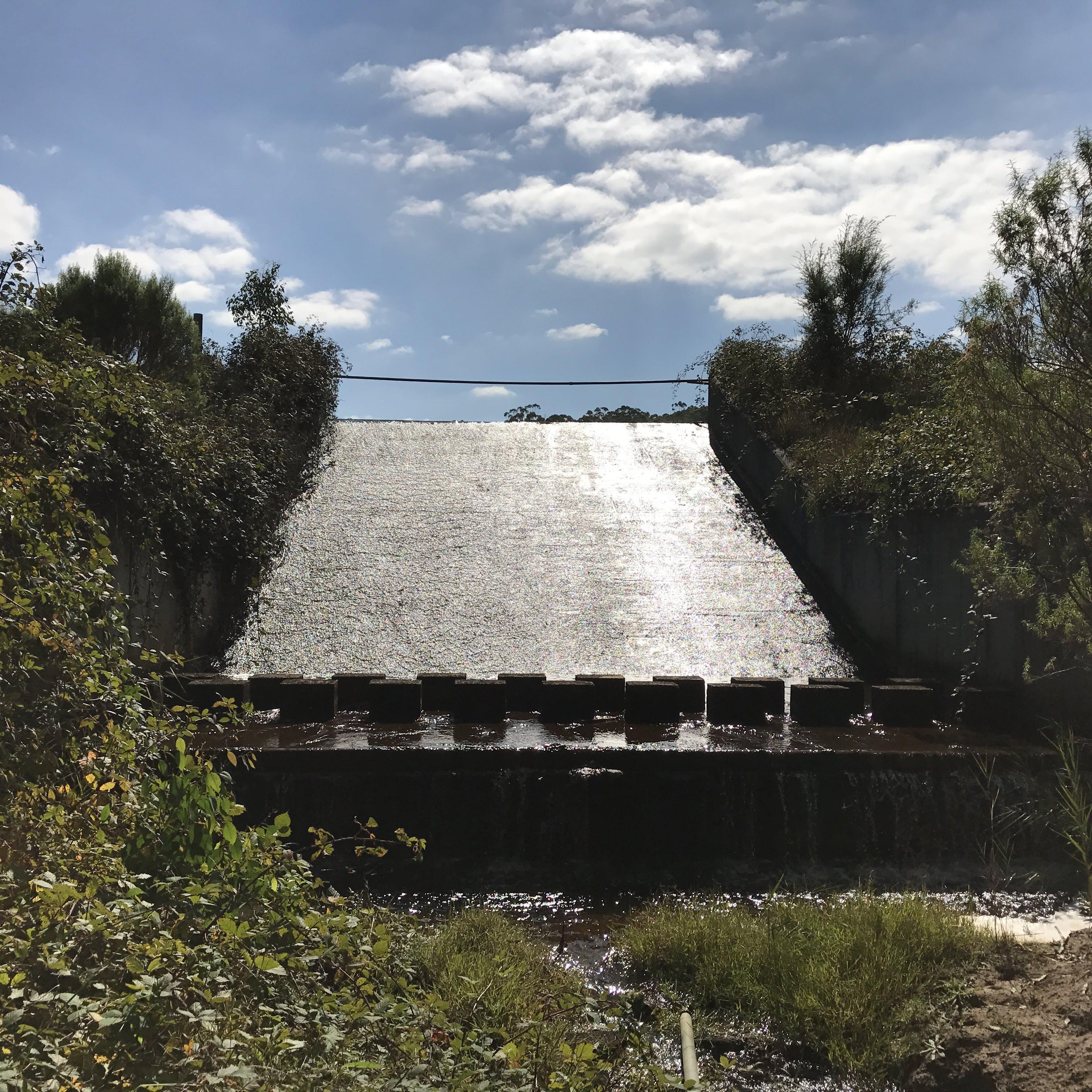McDonalds dam spillway