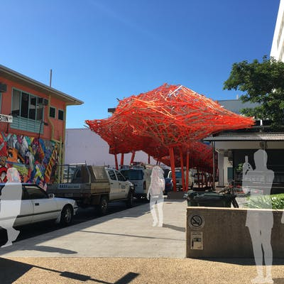 Austin Lane Shade Structure