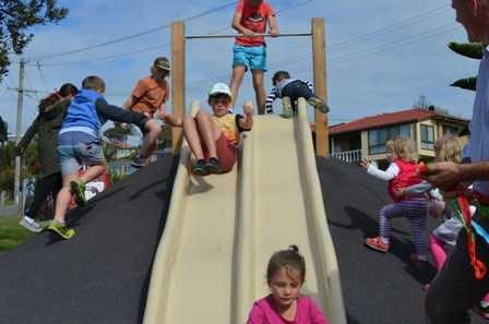 Raibow Beach Playground Opening 2
