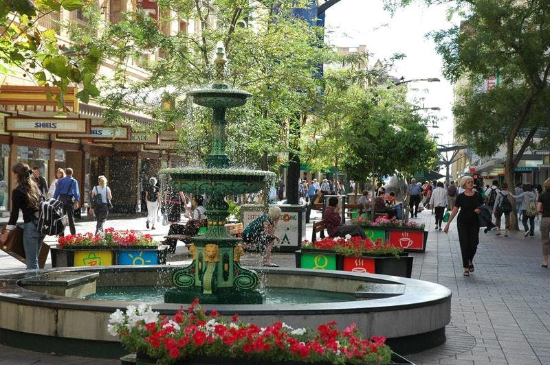 Rundle Mall Fountain