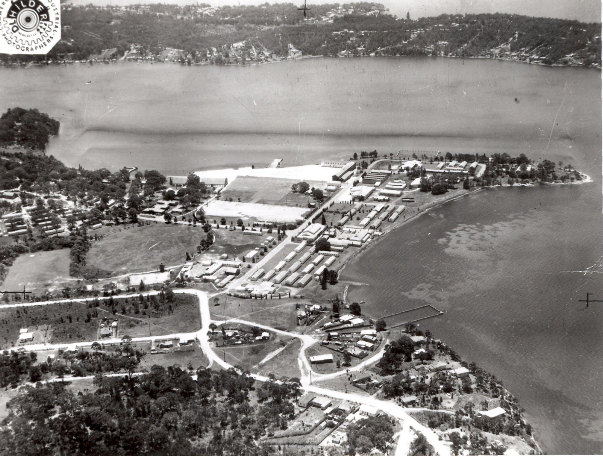Aerial Photo Of Rathmines Raaf Base