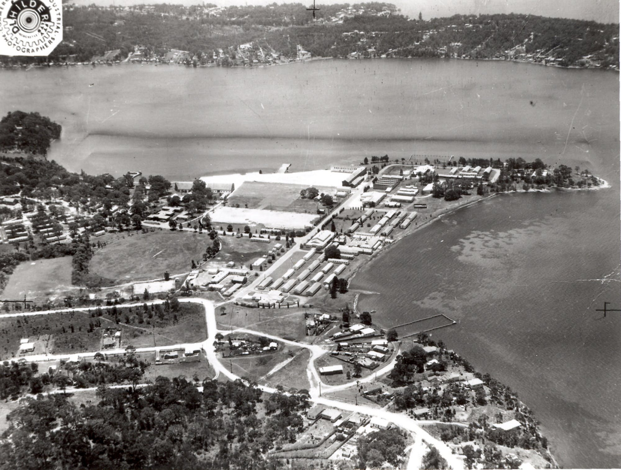 Aerial Photo Of Rathmines Raaf Base