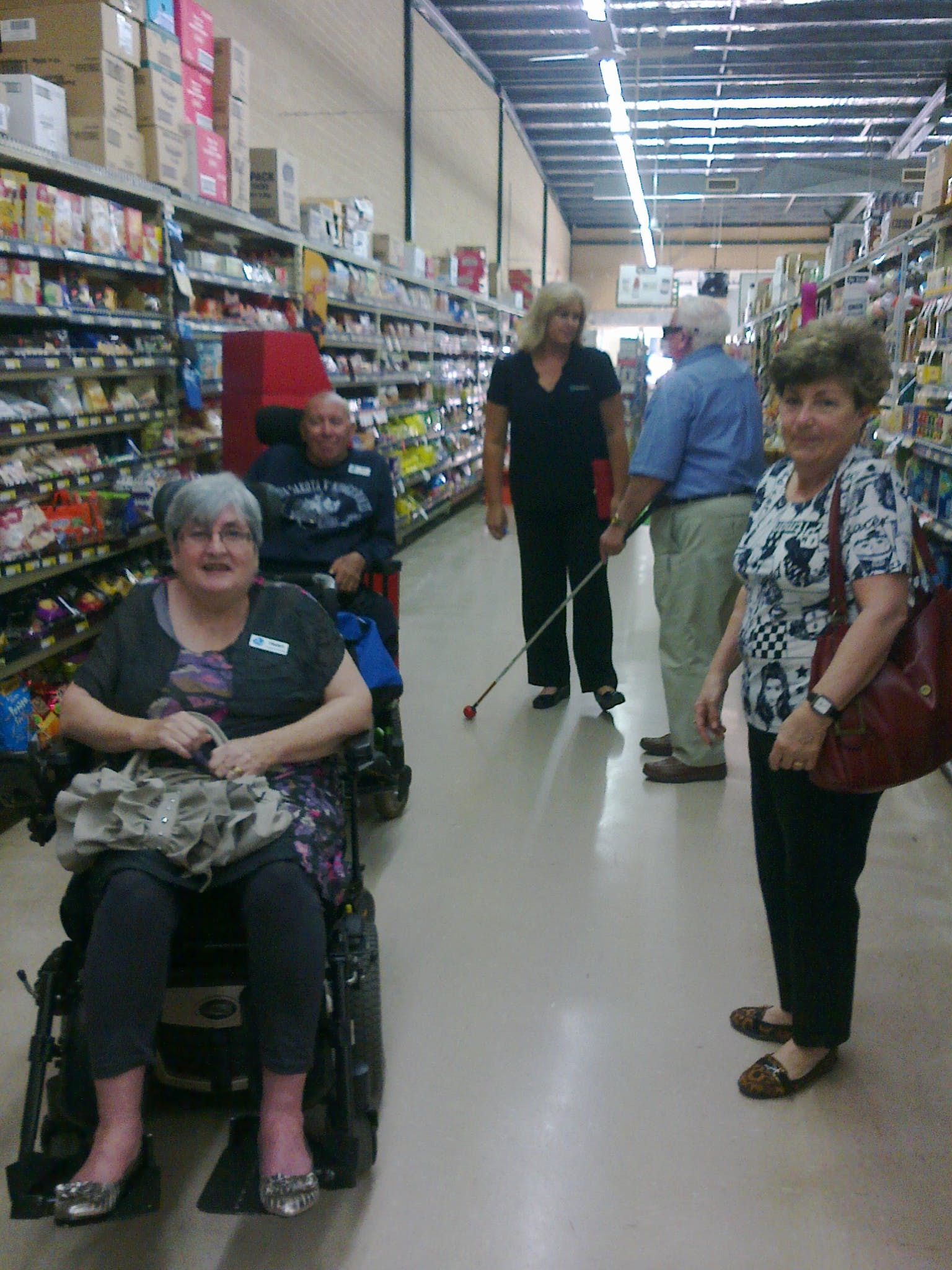 Accessible groceries