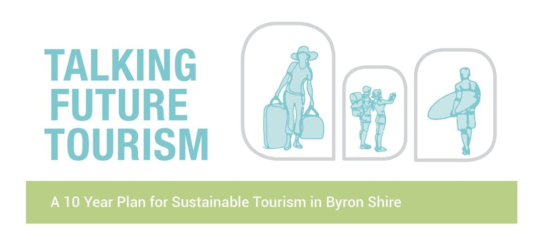 Logo talking future tourism