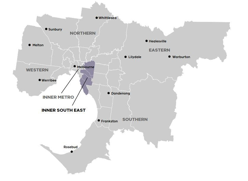 Inner South-east Metropolitan Region