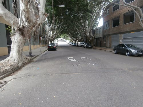 Northwood Street, Camperdown. Current condition.