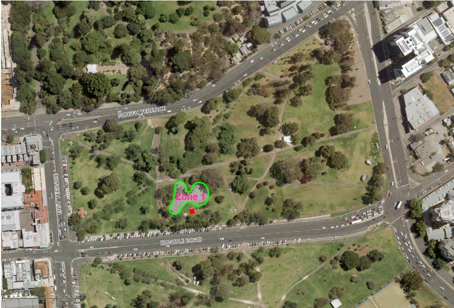 Park 13 Eoi Zone Map