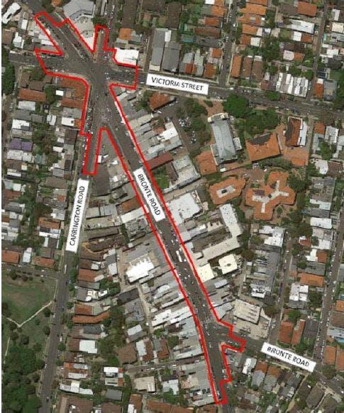 Charing Cross Village Centre Undergrounding Outline