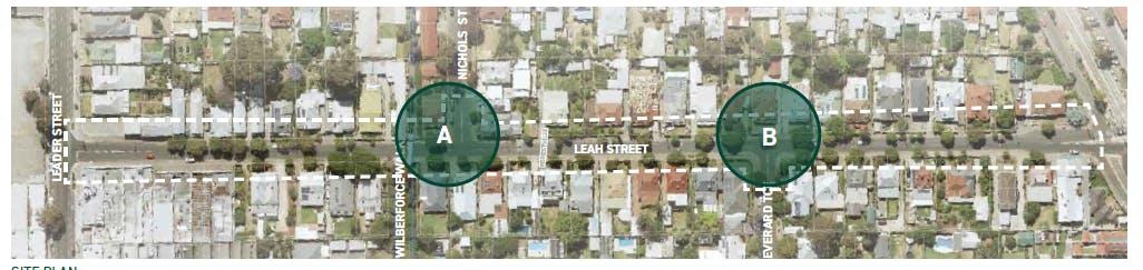 community Engagement Improving Leah Street