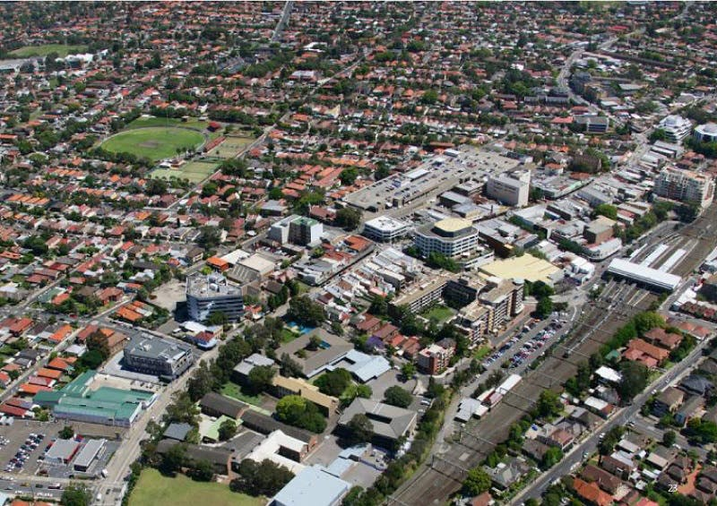 Aerial View - Town Centre
