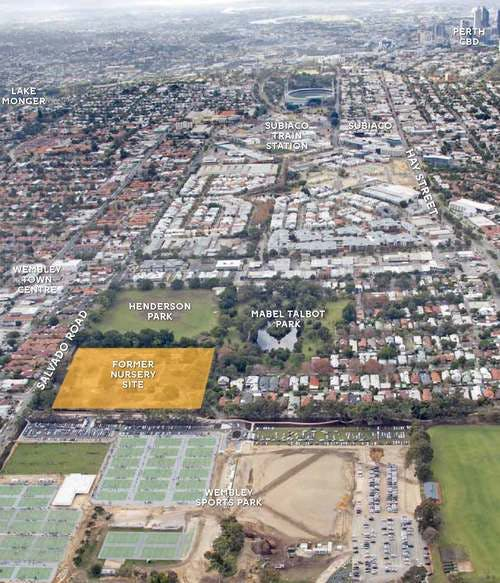 The Jolimont project site and surrounding area