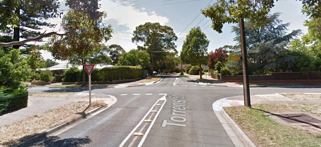 Proposed Roundabout - Keyes Street and Torrens Street, Linden Park