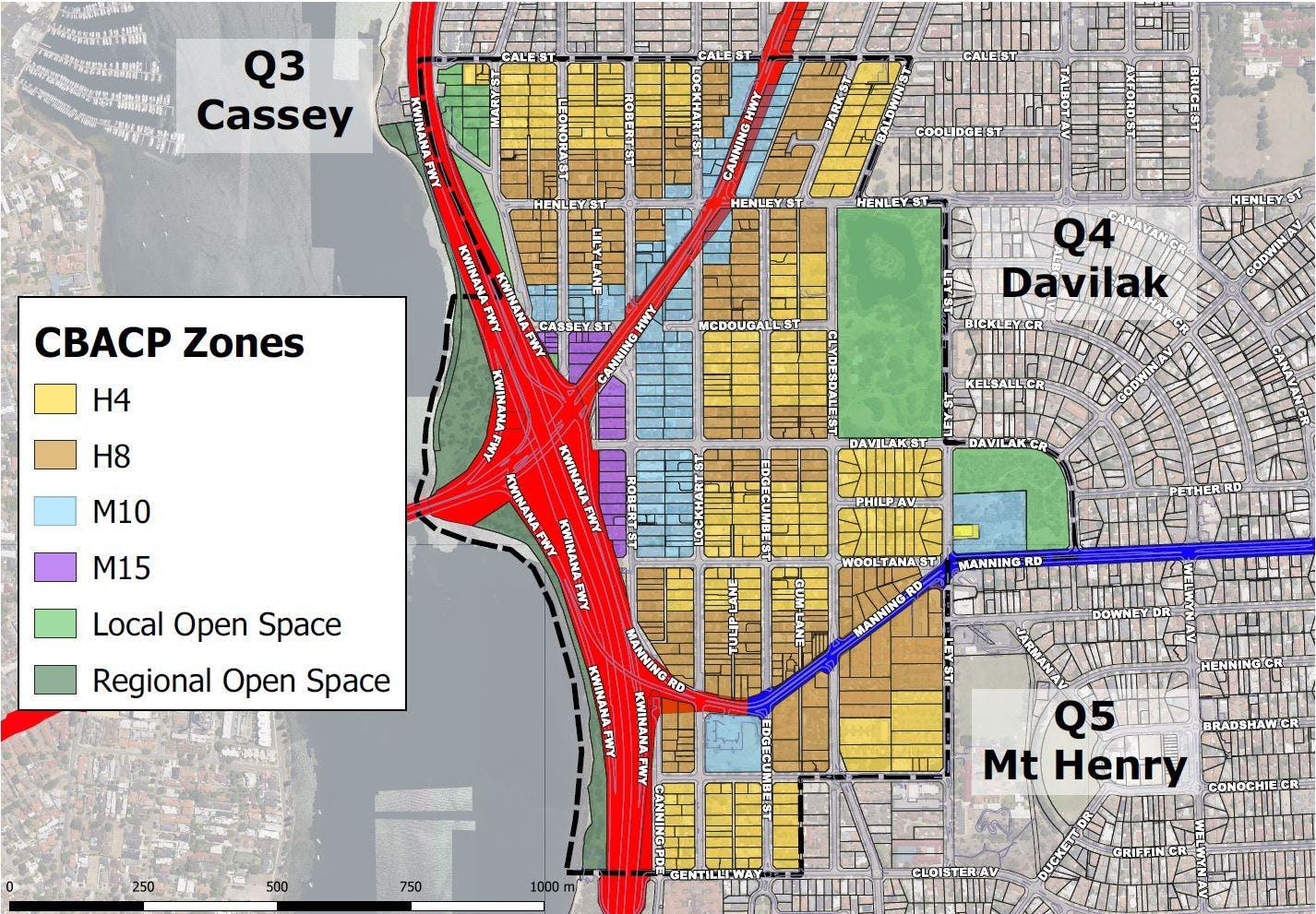 CBACP Zone Map