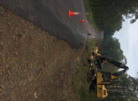 Road works