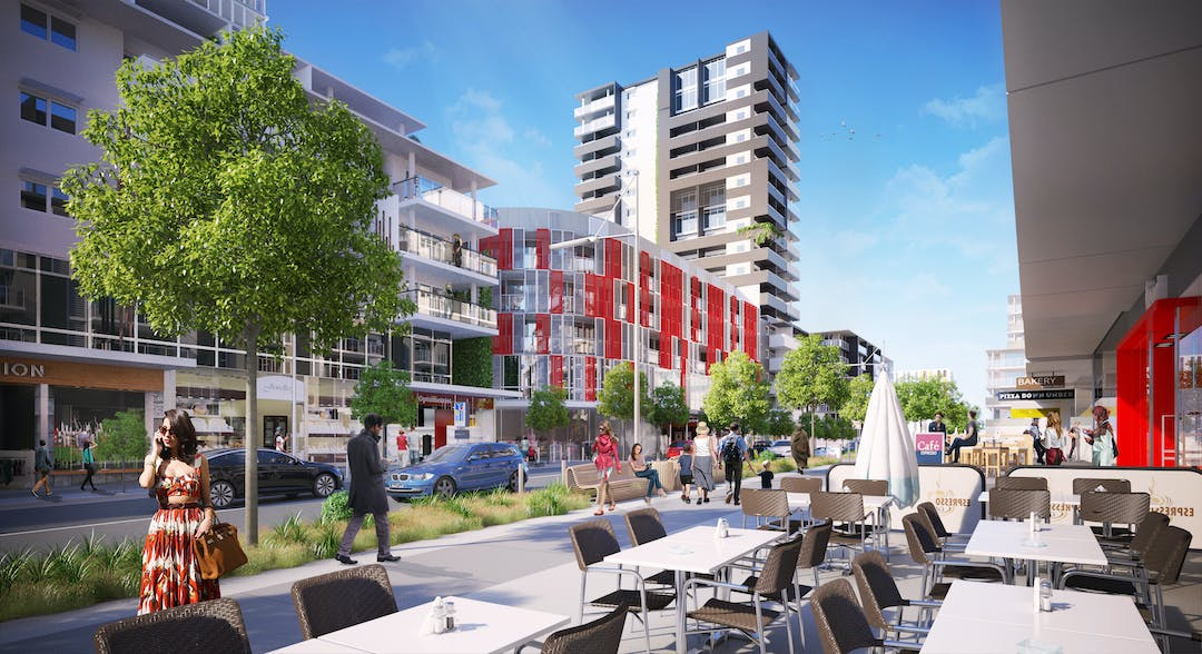 Concept plan for Wentworthville revitalisation