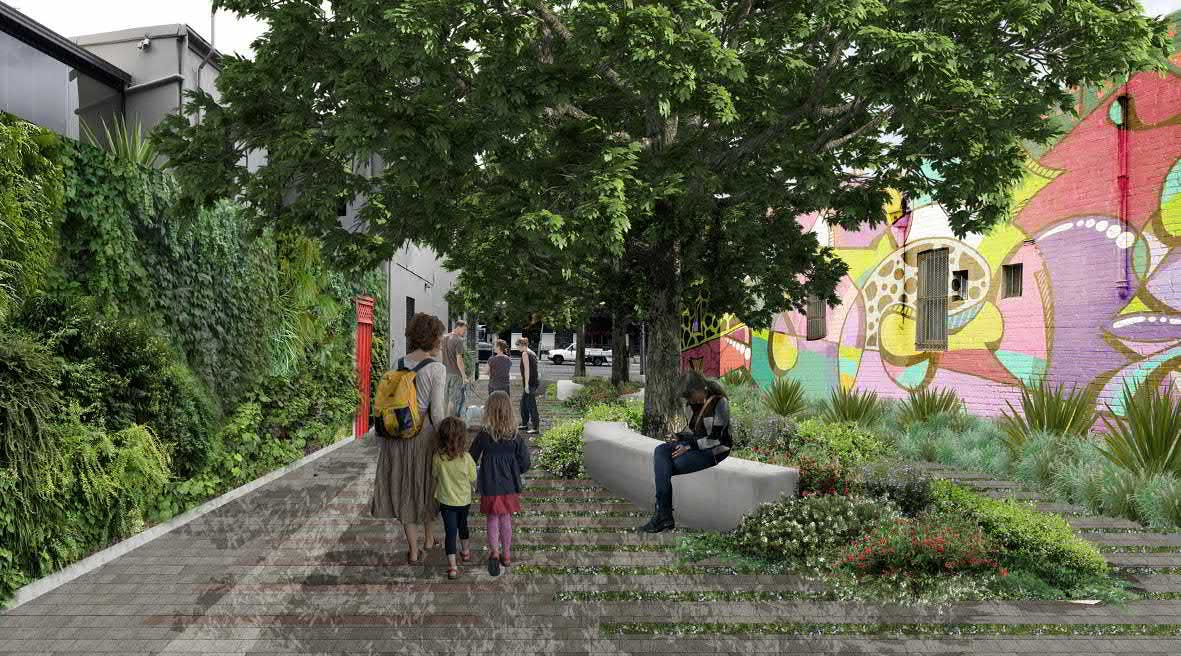 Petersham St Plaza Artist Impression