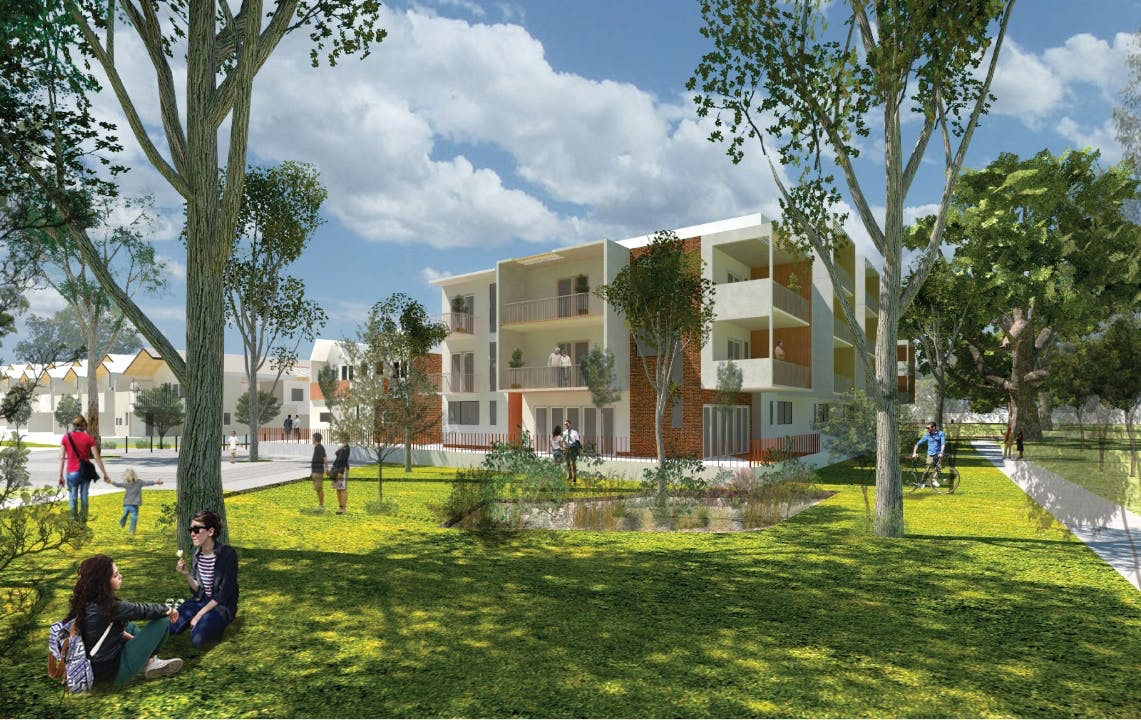 Redevelopment of the former nursery site jolimont have for Impression homes park ridge