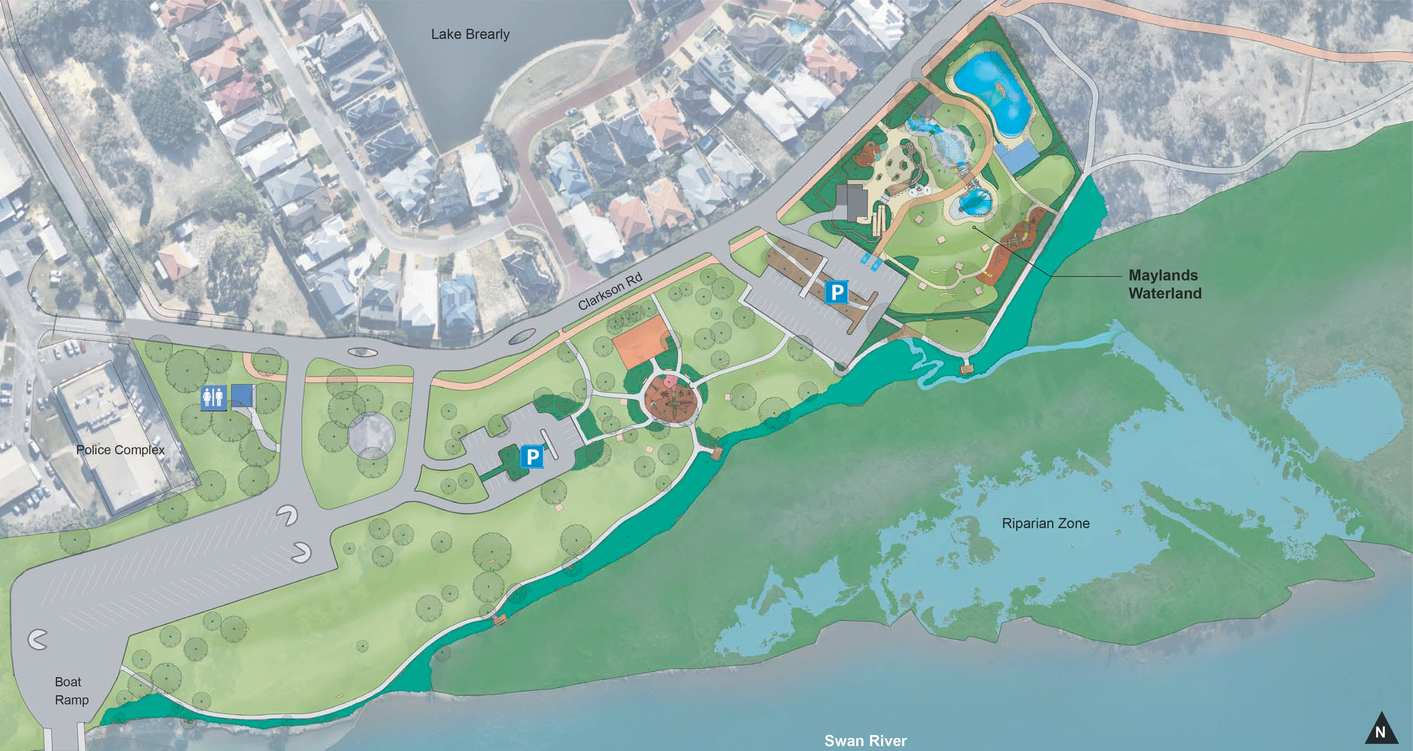 Waterland Overall Landscape Plan