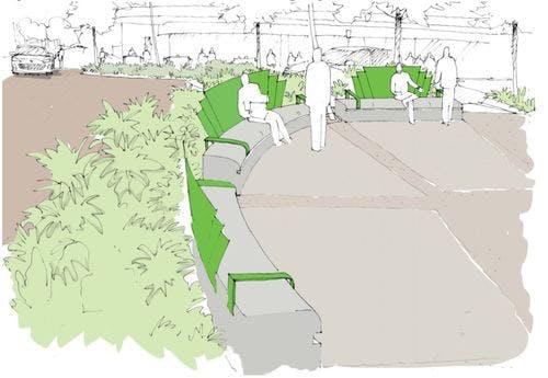 Chapman Street roundabout concept