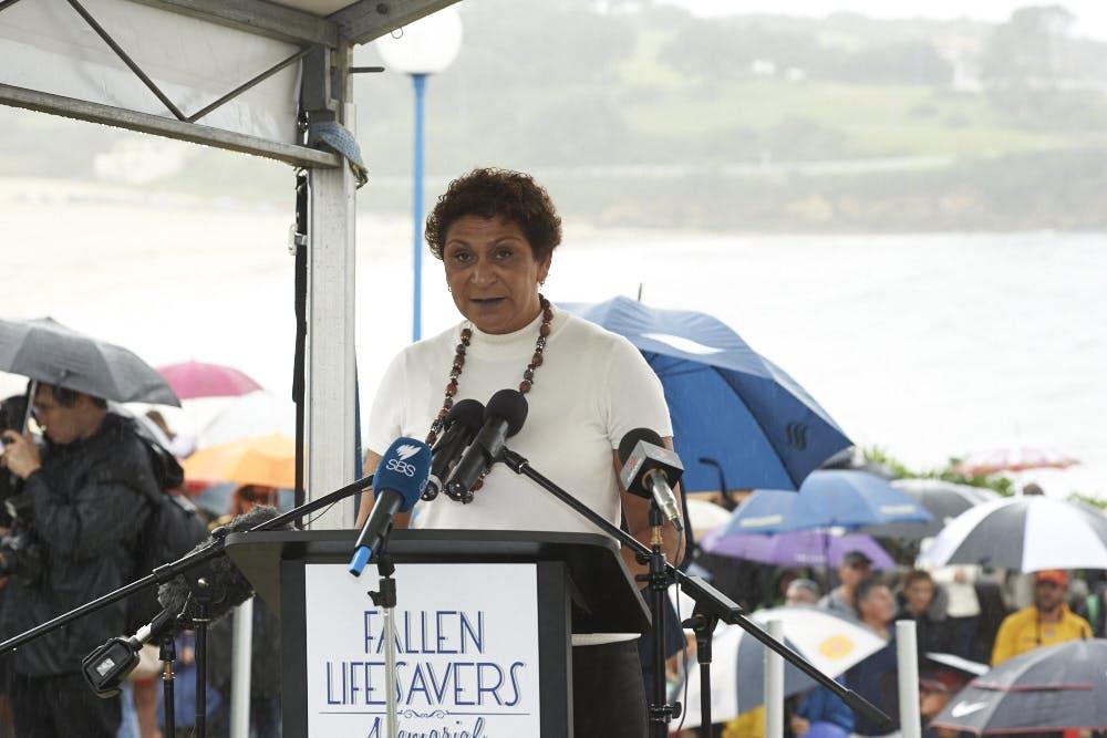 Fallen Lifesavers Memorial official opening 27 April 2014