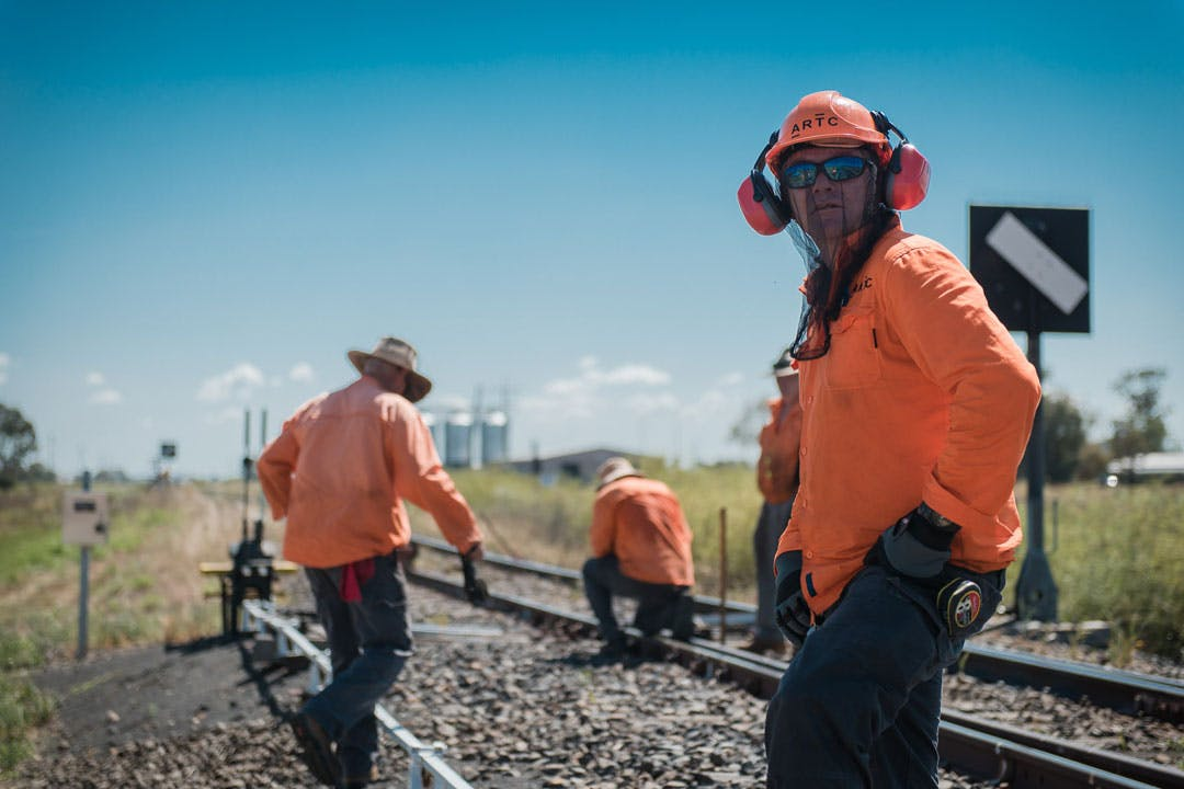 Work with us   Inland Rail