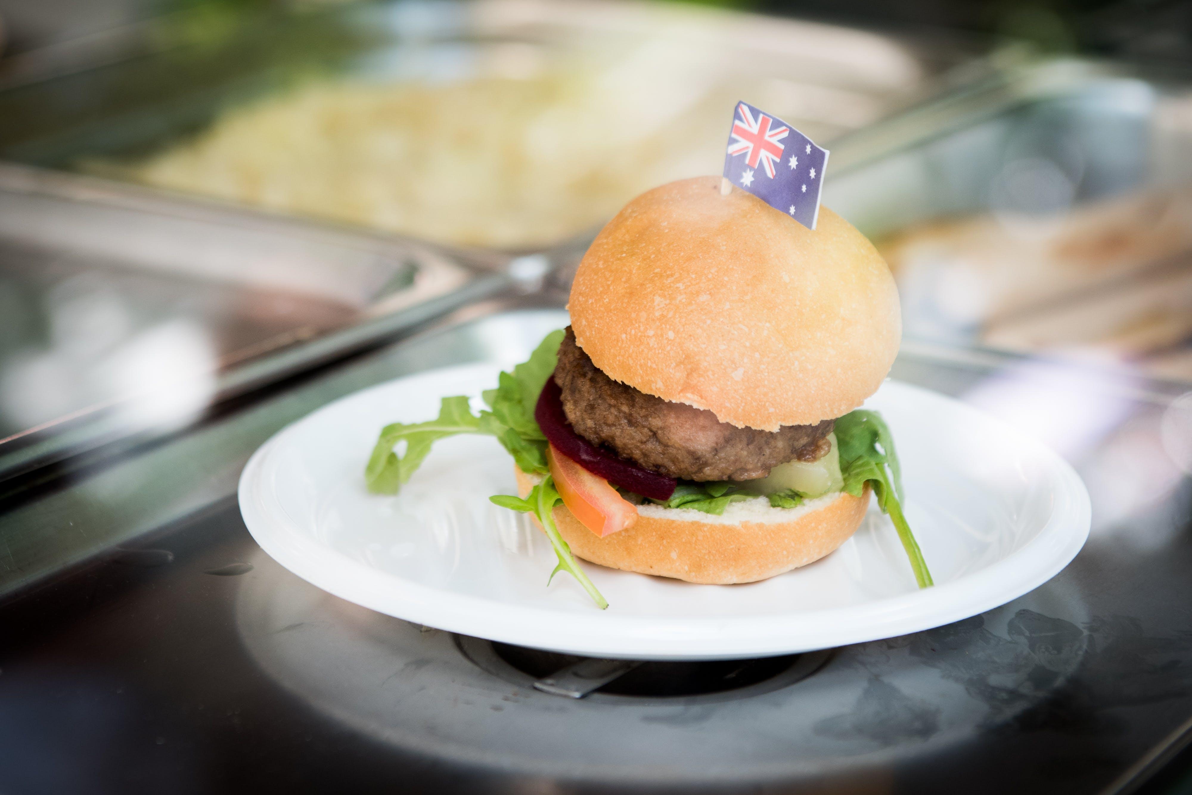 Australia Day burger