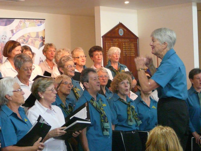 Seniors choir