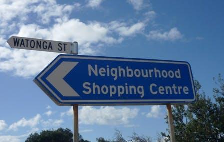 Watonga Street Sign