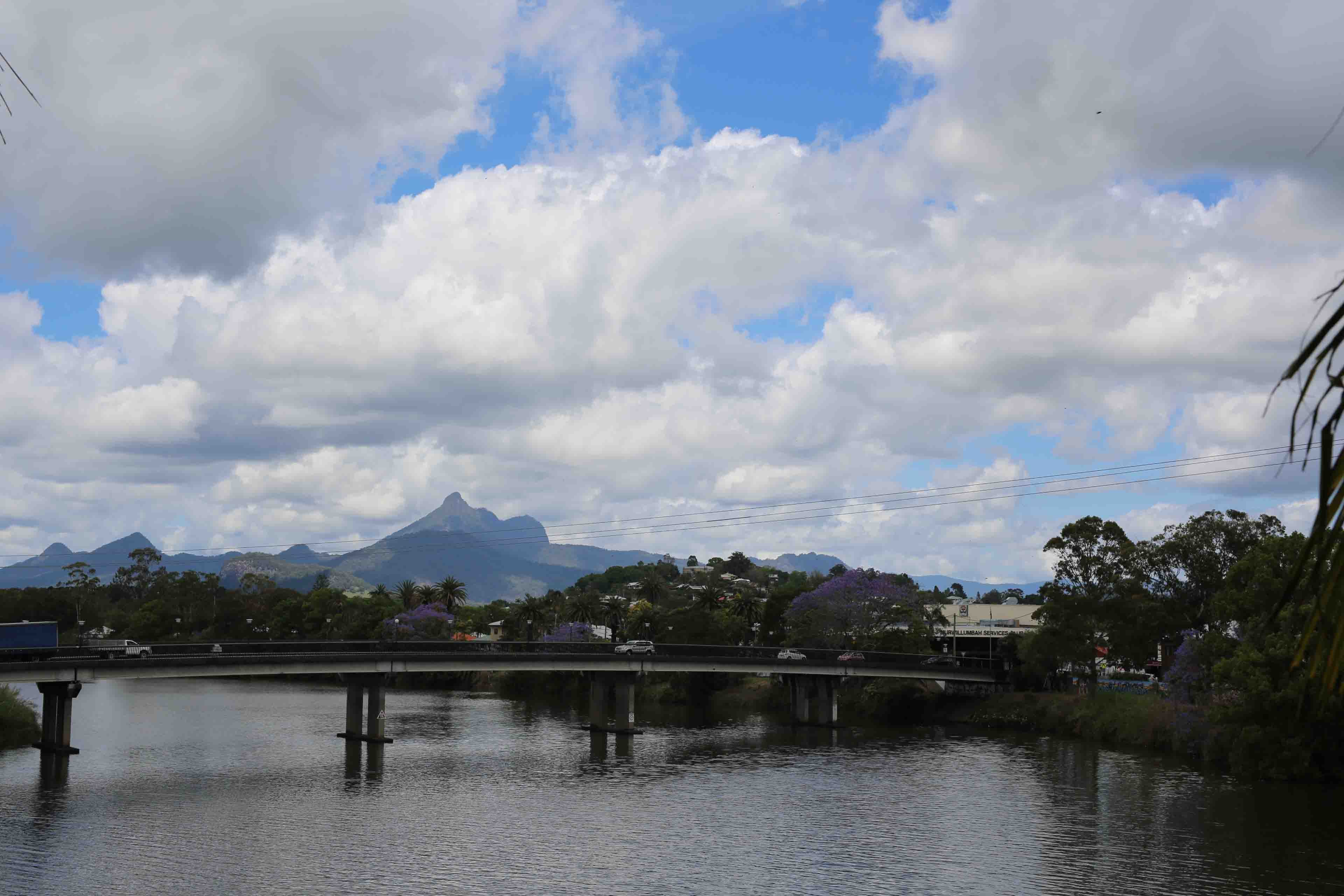 The Murwillumbah bridge over the Tweed River