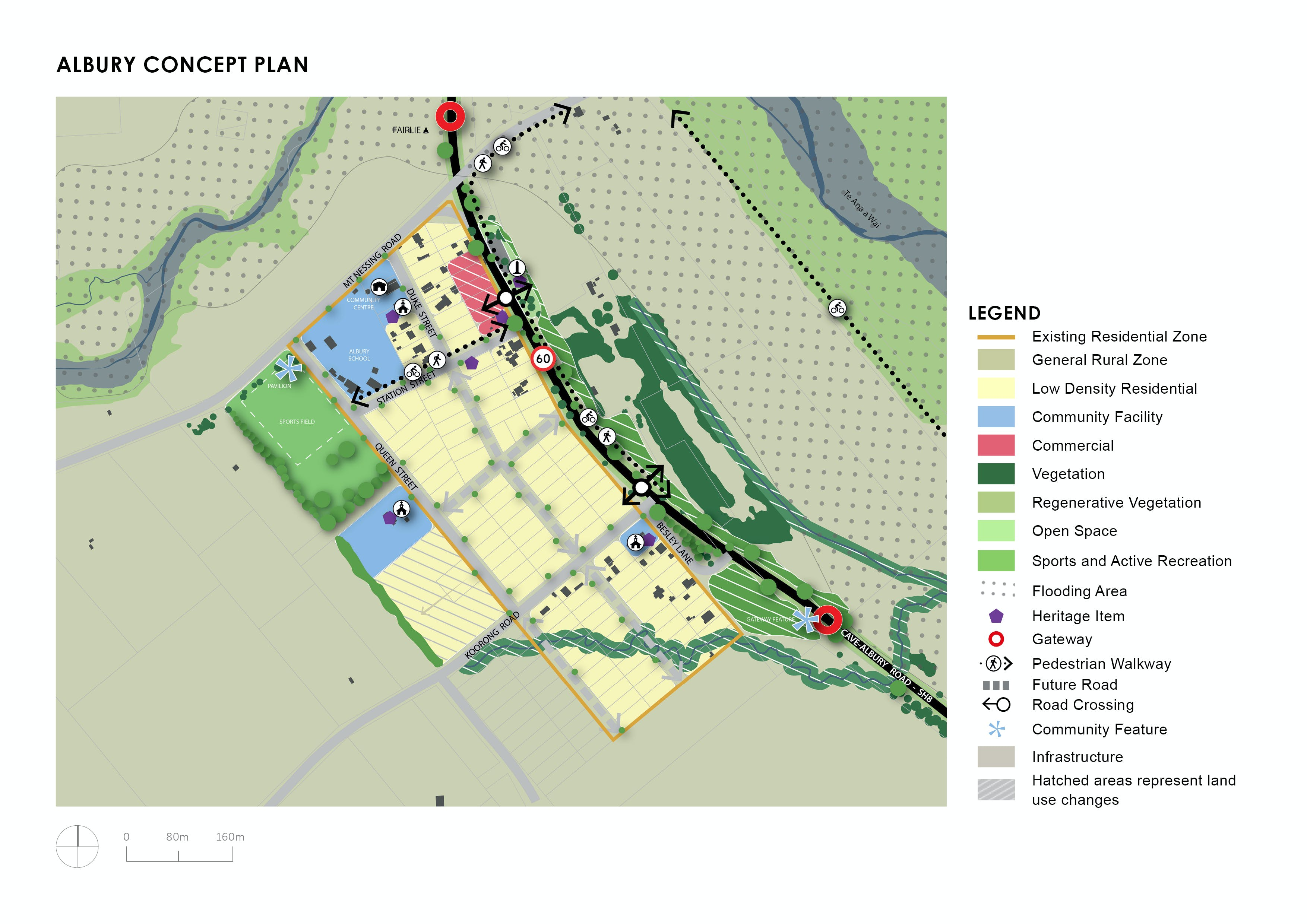 Albury Concept Plan