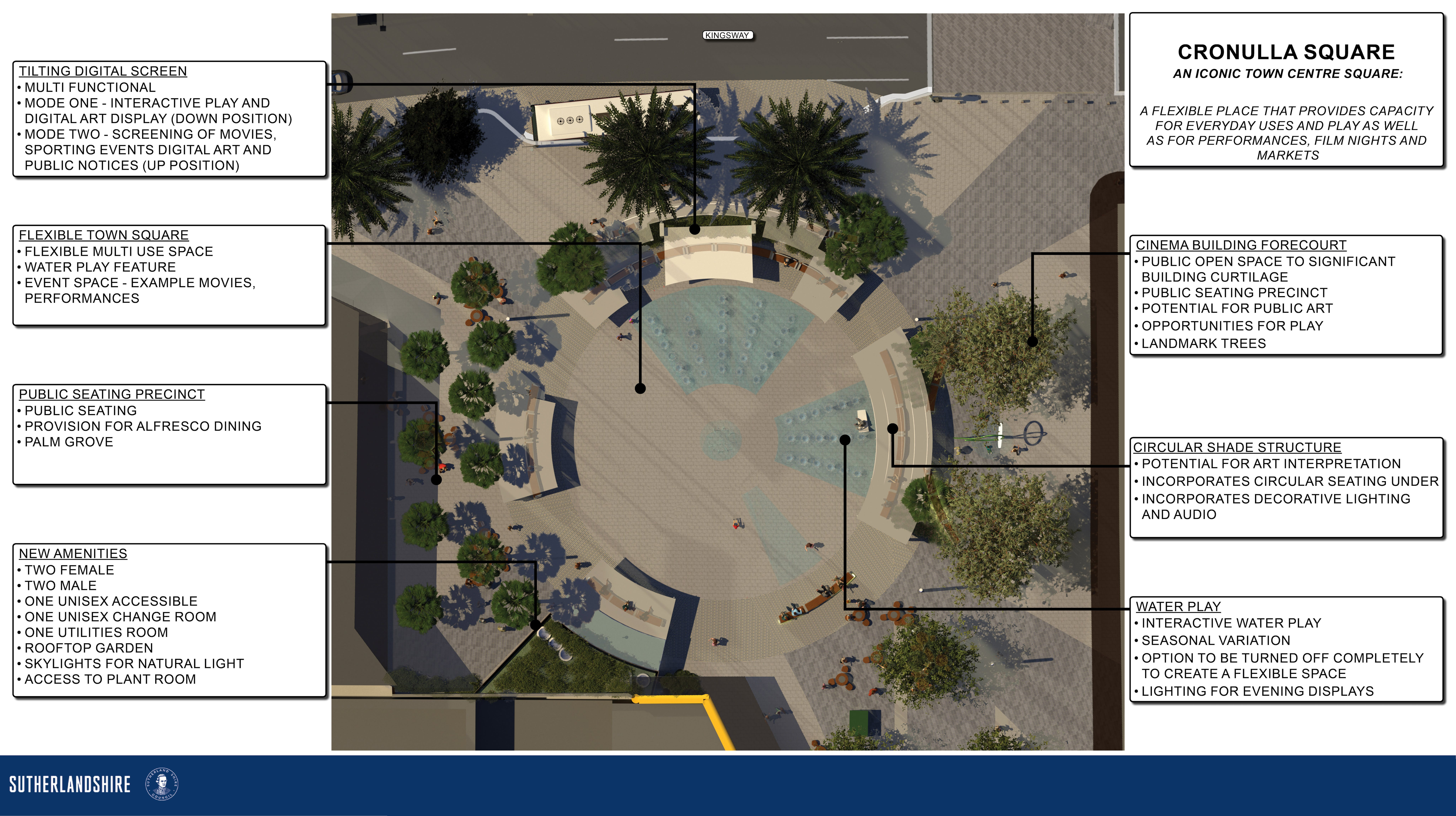 CRONULLA SQUARE DRAFT LAYOUT PLAN