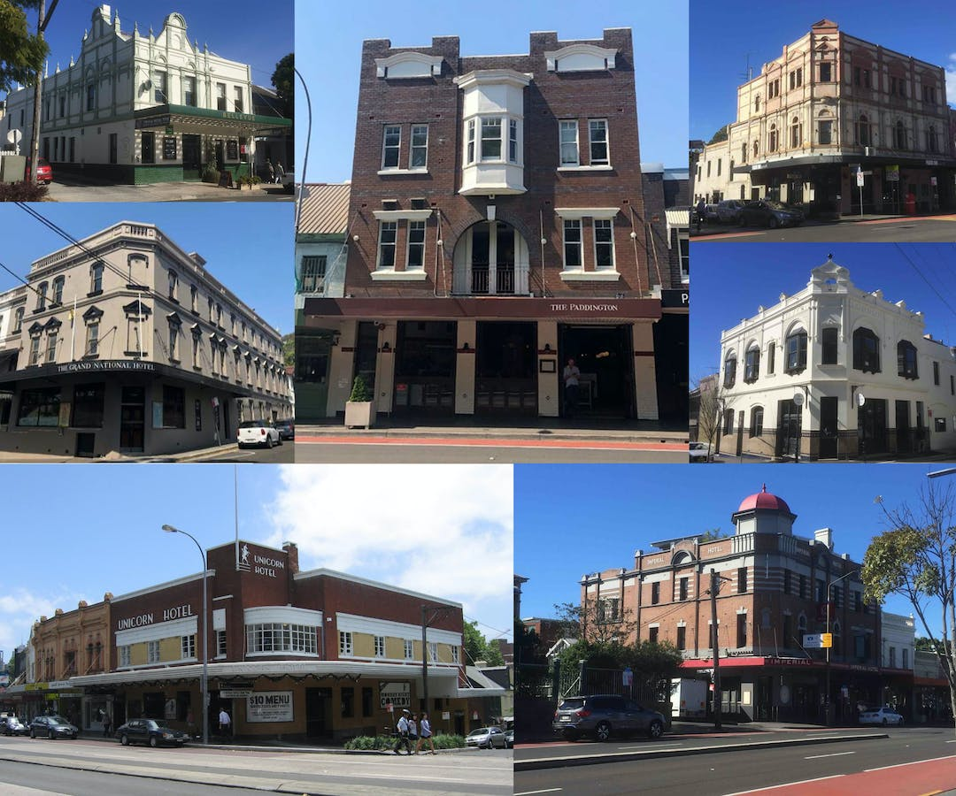 Proposed heritage listing of seven pubs in Paddington and amendments to the Woollahra DCP 2015 for pubs in the Paddington Heritage Conservation Area
