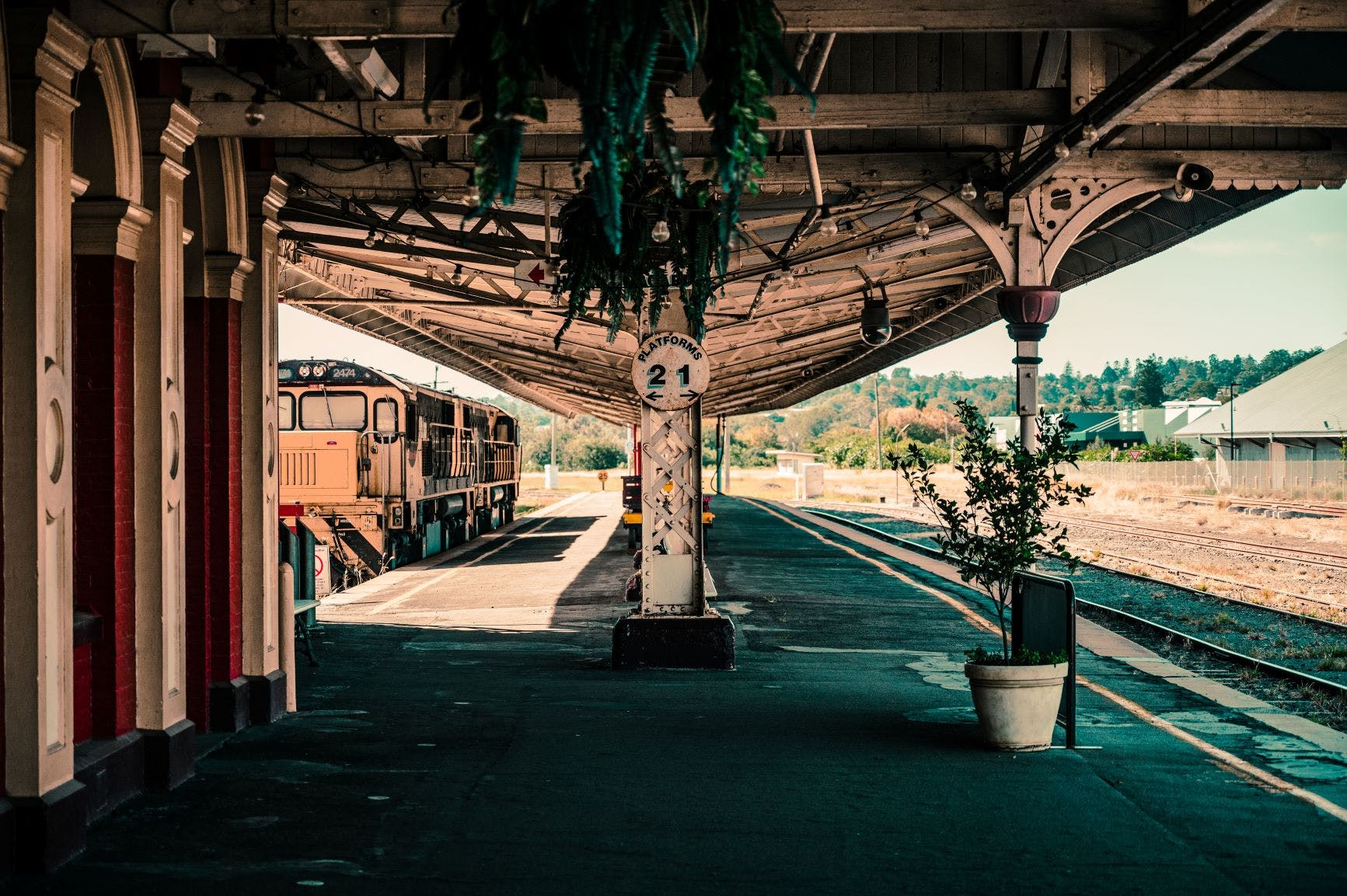 Dylan Robins, Toowoomba Railway Station 2020 (Highly Commended, Urban Character/Built Heritage Category)