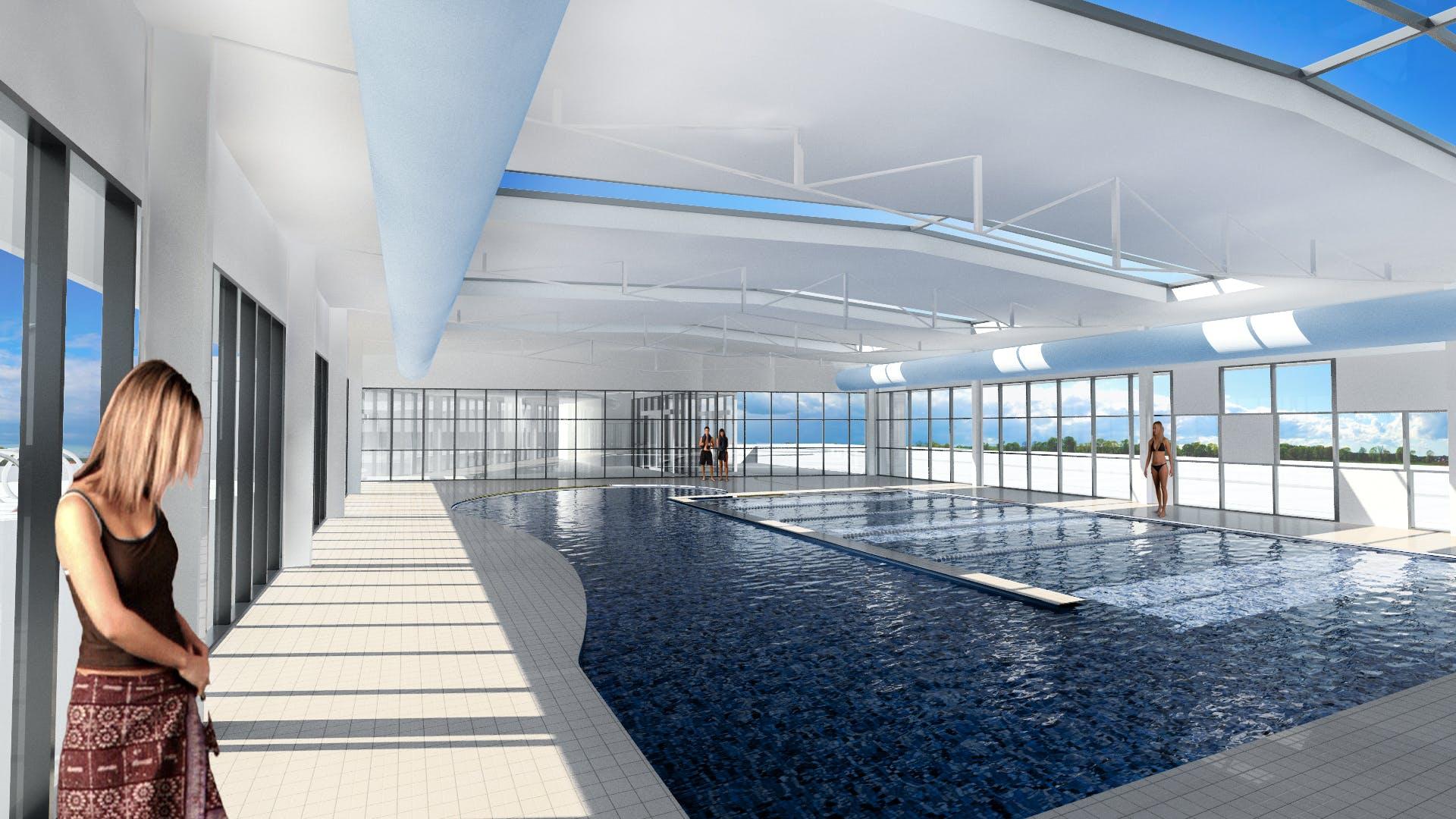 Swansea mulit-purpose indoor pool