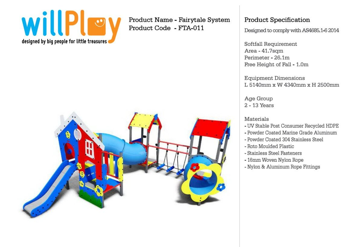 Playground Equipment Design 3