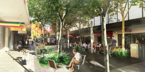 New street furniture and public art