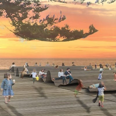 Henley Square Deck Image