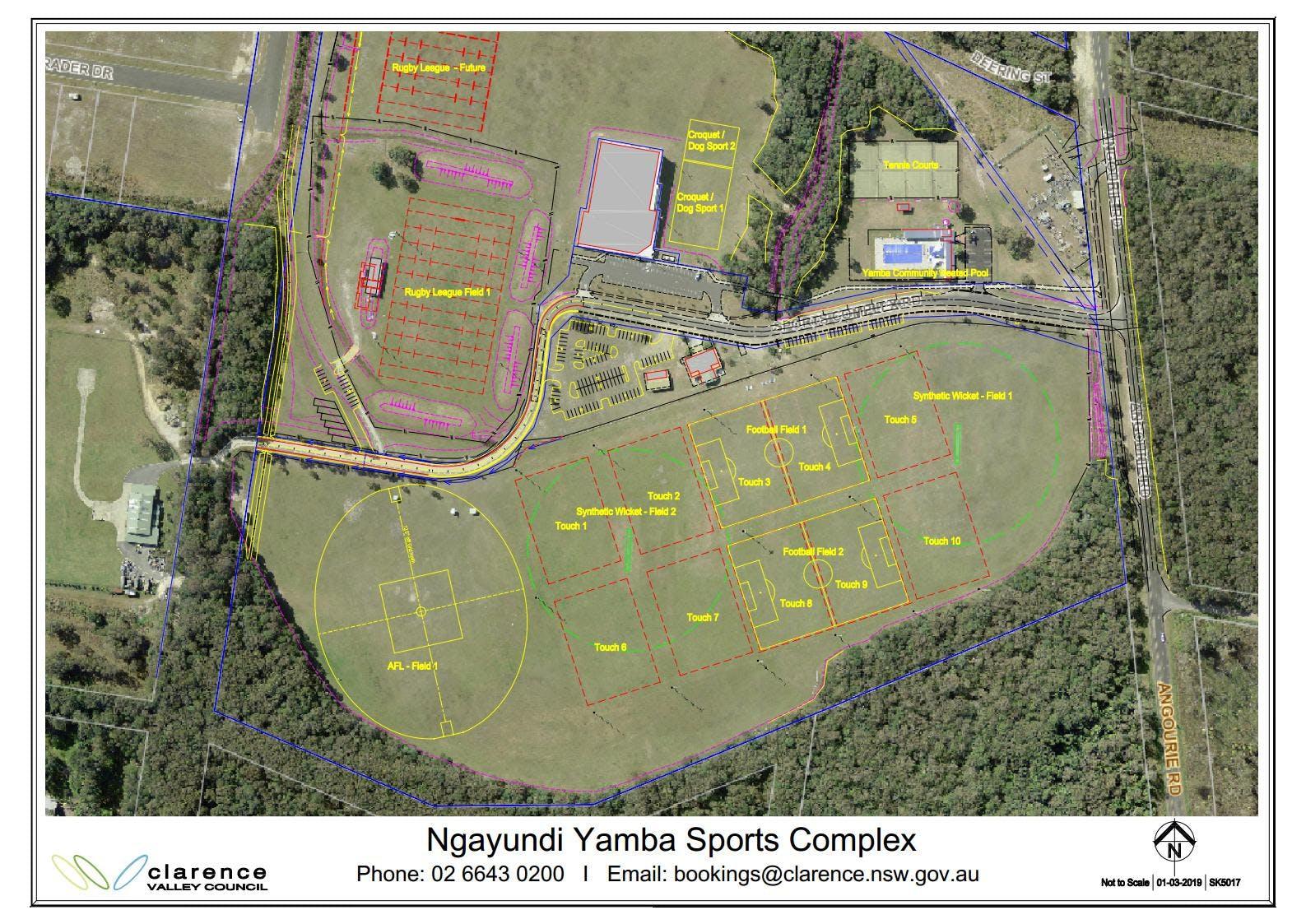 Ngayundi Yamba Sports Complex
