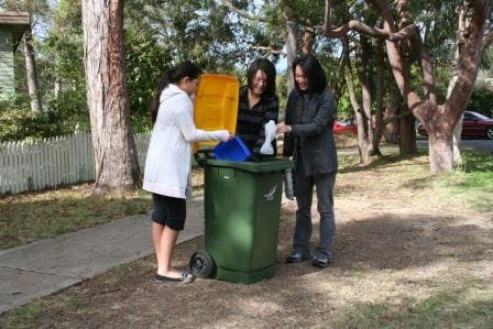 Recycling in the Blue Mountains