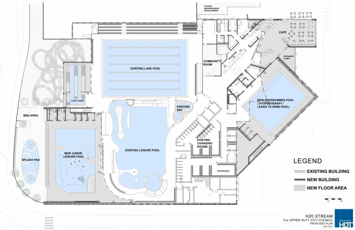 Floor plan of proposed full upgrade to H20 Xtream