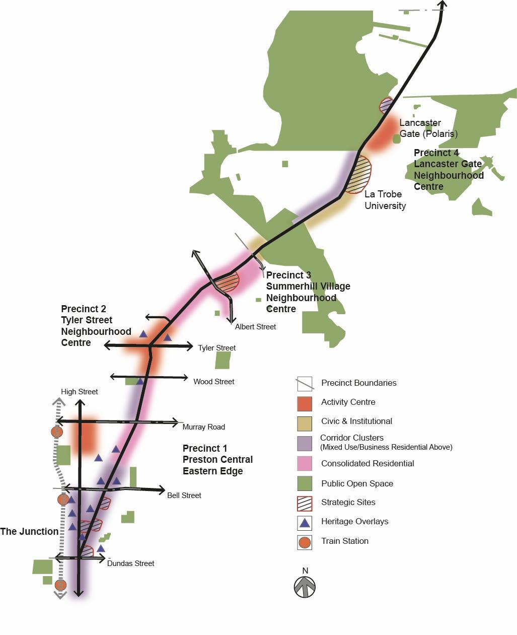 C137 - Plenty Road Overall Framework Plan