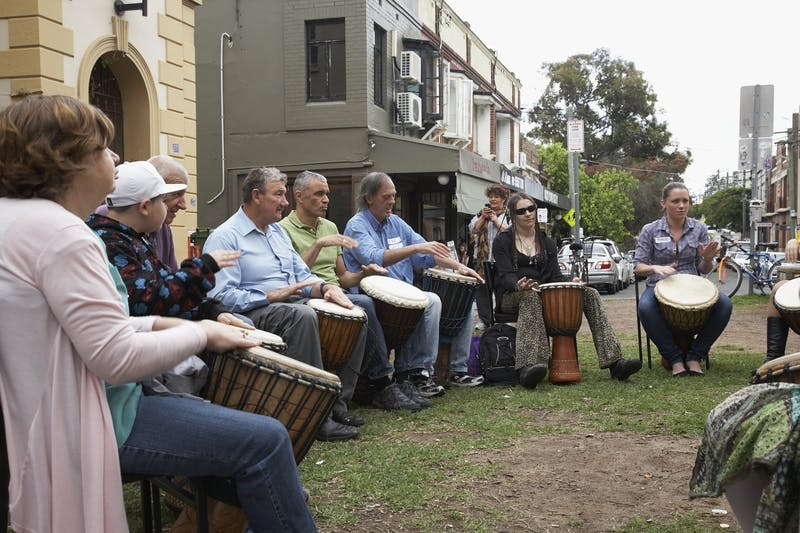 Drumming - Newtown Plaza